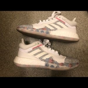 Adidas marquee boost basketball shoes, men